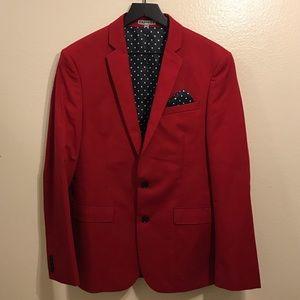Men's Red Blazer/Suit Jacket